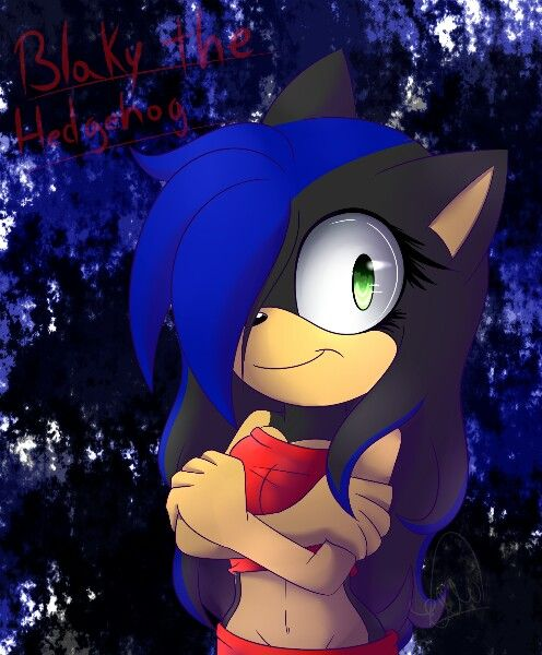 This is my part in AT with Blaky the hedgehog