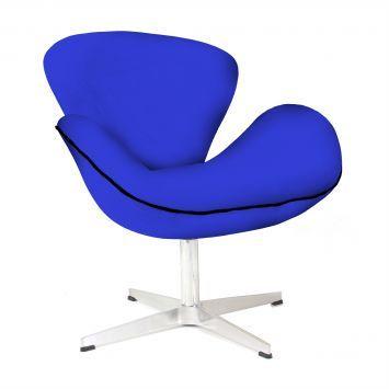 Compre Poltrona Swan Azul e pague em até 12x sem juros. Na Mobly a sua compra é rápida e segura. Confira!