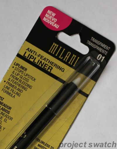 Milani clear lip liner. apparently this came out as the winner in a comparison test. Want to try this under lipstick! Sounds like an awesome product. .