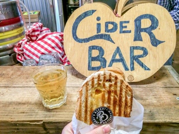 The bakery and cidery are two of the great stands at the Fenix Food Factory. A visit to the eatery is one of the great things to do in Rotterdam.