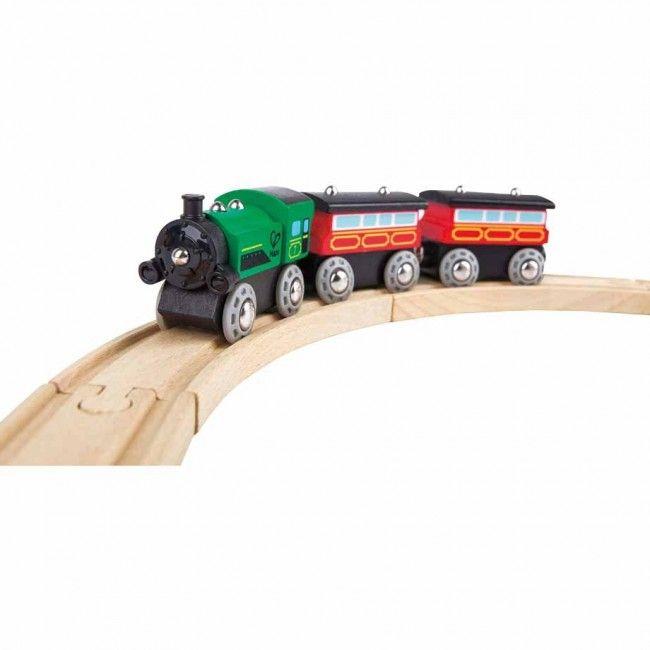 Hape Rail - Steam Era Passenger Train E3719