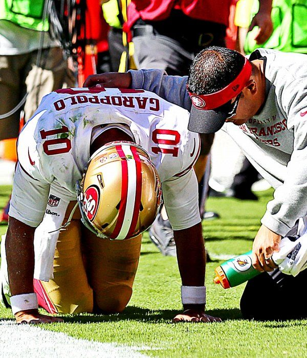 Jerry Rice on Jimmy Garoppolo's injury He was just trying