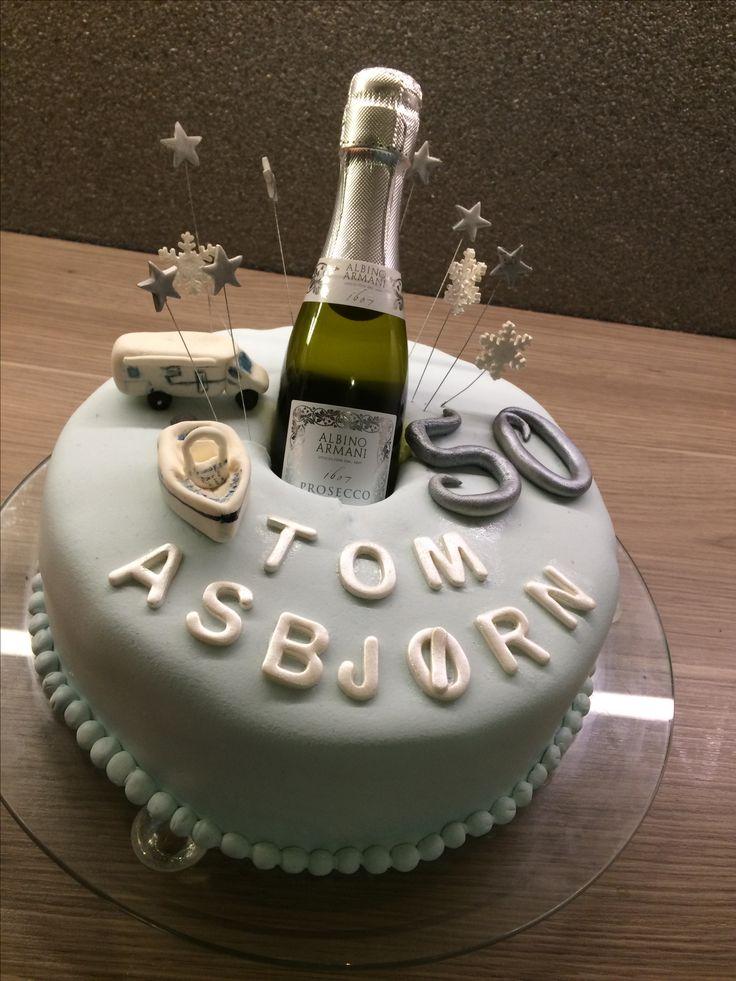 Flott 50-åring må feires skikkelig!  #50th #birthday #cake