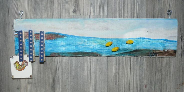 Shabby- Pinwand -  Memoboard  von Meissen-Kreativ auf DaWanda.com