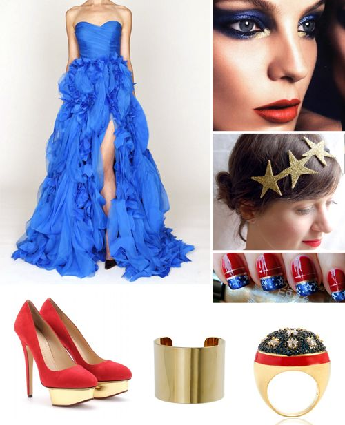Wonder Women Wedding Inspiration Board