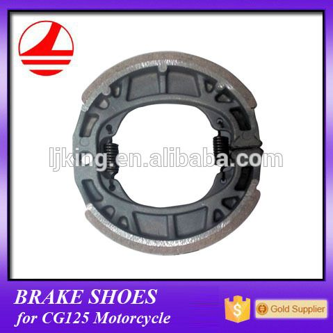 supplier brake shoe chinese lifan motorcycle spare parts cg125