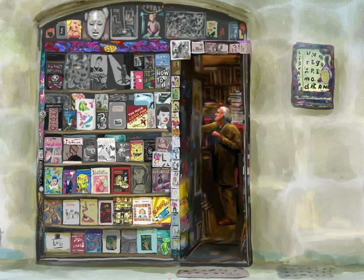 How I Found the Four Hardest-to-Find Bookstores in the World | And, also, illustrated them.