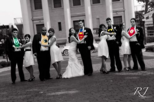 superhero wedding picture...i will always repin this...i love it!!!