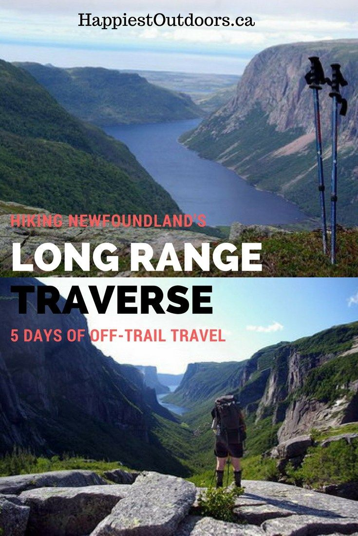 Hiking the Long Range Traverse in Newfoundland. This 5 day off-trail hike in Gros Morne National Park is one of Canada's most beautiful multi-day hikes. You'll see moose, get beautiful views and test your navigation skills.