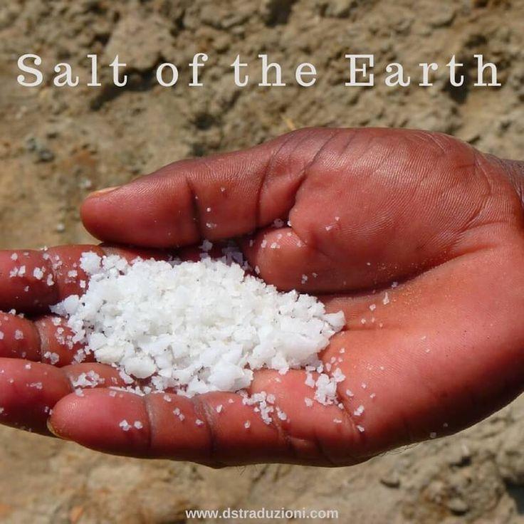 L'espressione salt of the earth, il sale della terra, si utilizza per fare riferimento a una persona buonissima, a un santo e ha origine da un versetto della Bibbia, (Matteo 5:13): Ye are the…
