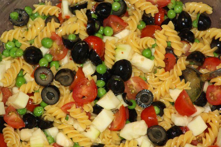 Gluten Free Picnic Pasta Salad on MyRecipeMagic.com
