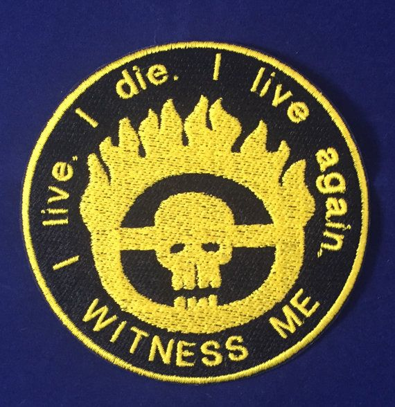 Mad Max: Fury Road Badge Witness Me Patch by MajesticFashion