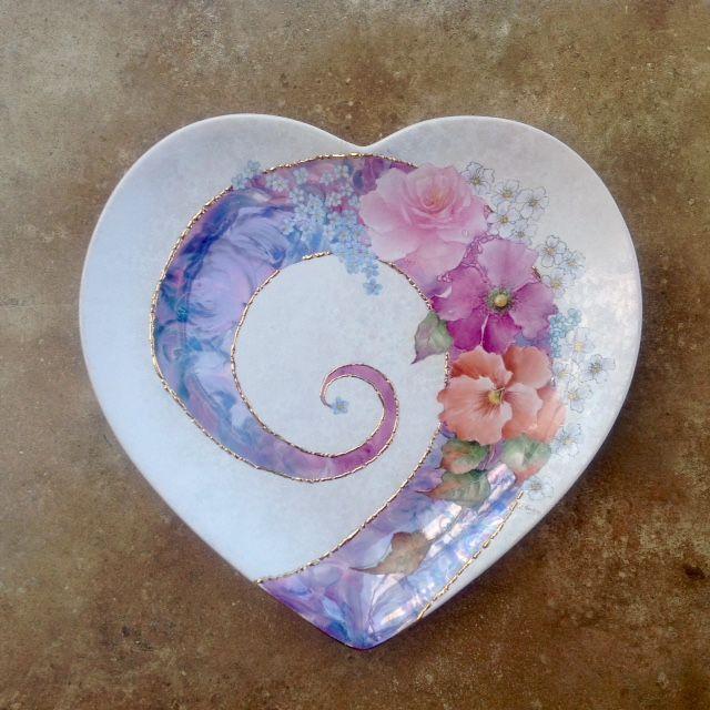 looks like someone has painted my heart.......