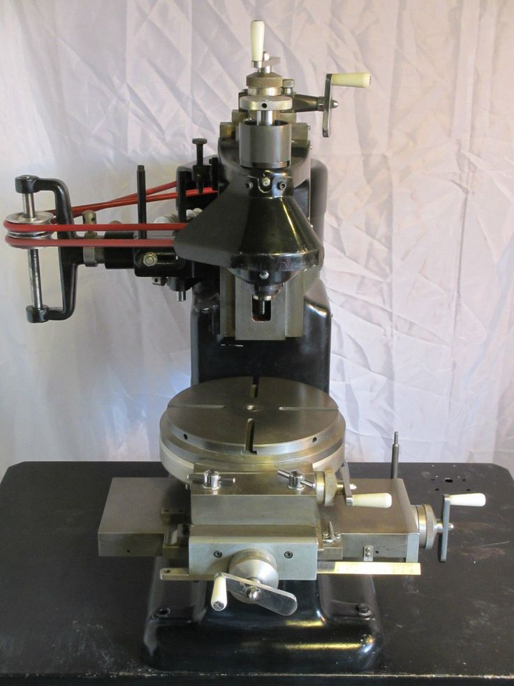BCA MK3 - JIG BORER / VERTICAL MILLING MACHINE - model engineer - myford - lathe