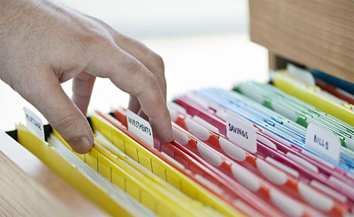 Como organizar a papelada em 5 etapas