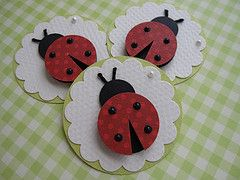 Spring Ladybugs | Handmade by me.. | By: vsroses.com | Flickr - Photo Sharing!