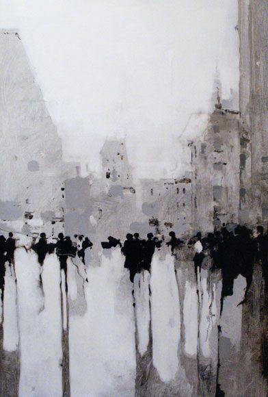 Geoffrey Johnson - Street Study, East