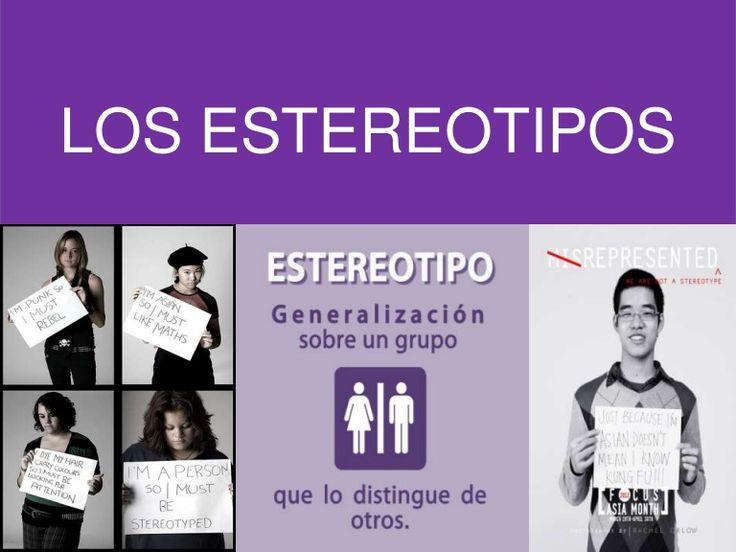 LOS ESTEREOTIPOS