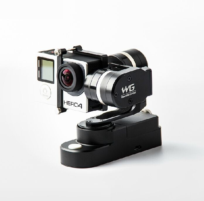 235.00$  Buy here - http://aliket.worldwells.pw/go.php?t=32399567628 - IN Stock!! FeiYu Tech Wearable Handheld Brushless Gimbal for Gopro 3 3+ 4 Xiaoyi AEE Contour Camera PK Zhiyun Z1-Rider