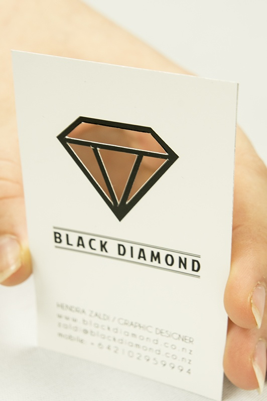 "Design store ""Black Diamond"" by Yhodie Hendra Zaldi, via Behance"