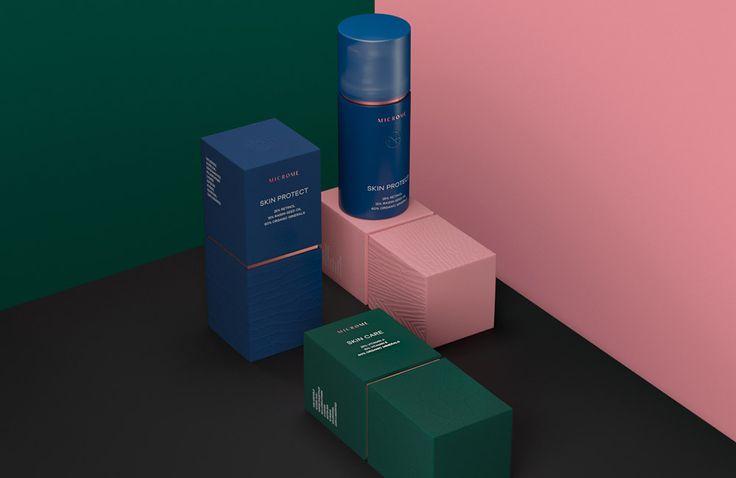 Microme cosmetics — Brand concept #FB_Agency #Package #Design #Luxury #Cosmetics #Woman #Organic #Дизайн #Упаковки #Косметика