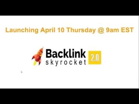 Hey Everyone; Eric Lovelace here and this is my official video for the Backlink Syrocket 2.0 system. Make sure to pick this product up through my link to get access to my value-packed course. Click the link below!  http://ericlovelacemarketing.com/backlinkskyrocket2bonus