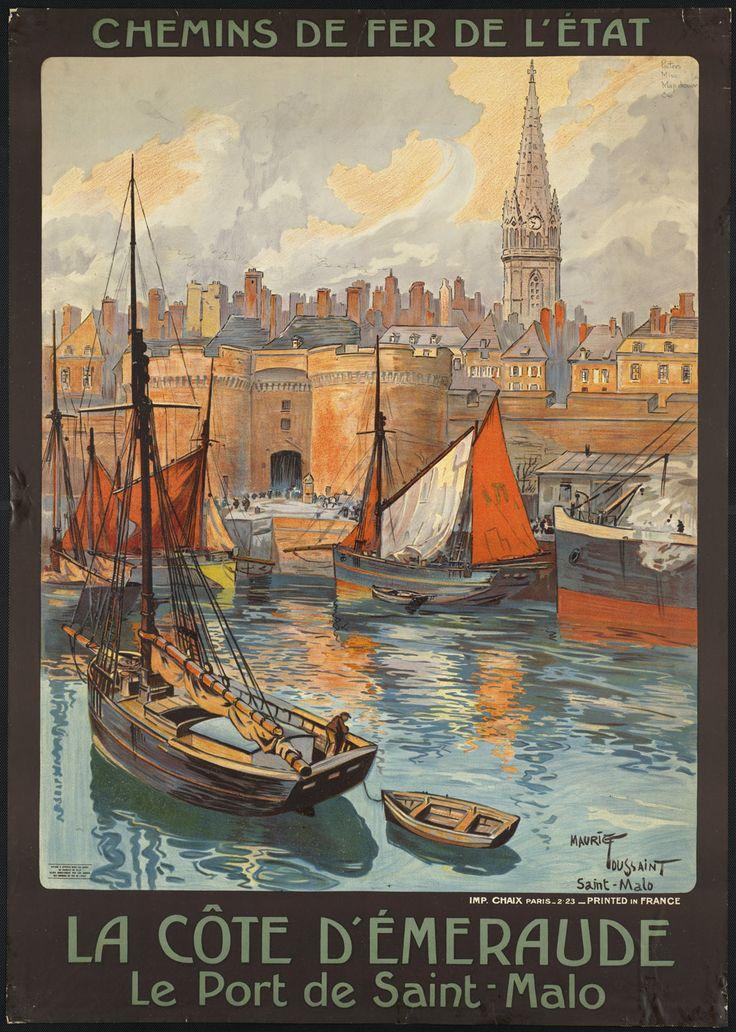Visitez la France. Saint-Malo #Bretagne #brittany #France #tourism