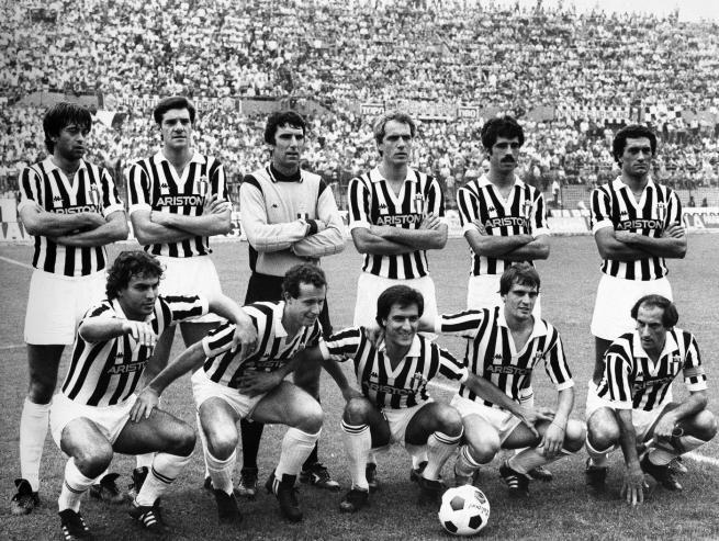 JUVENTUS CAMPIONE 1982