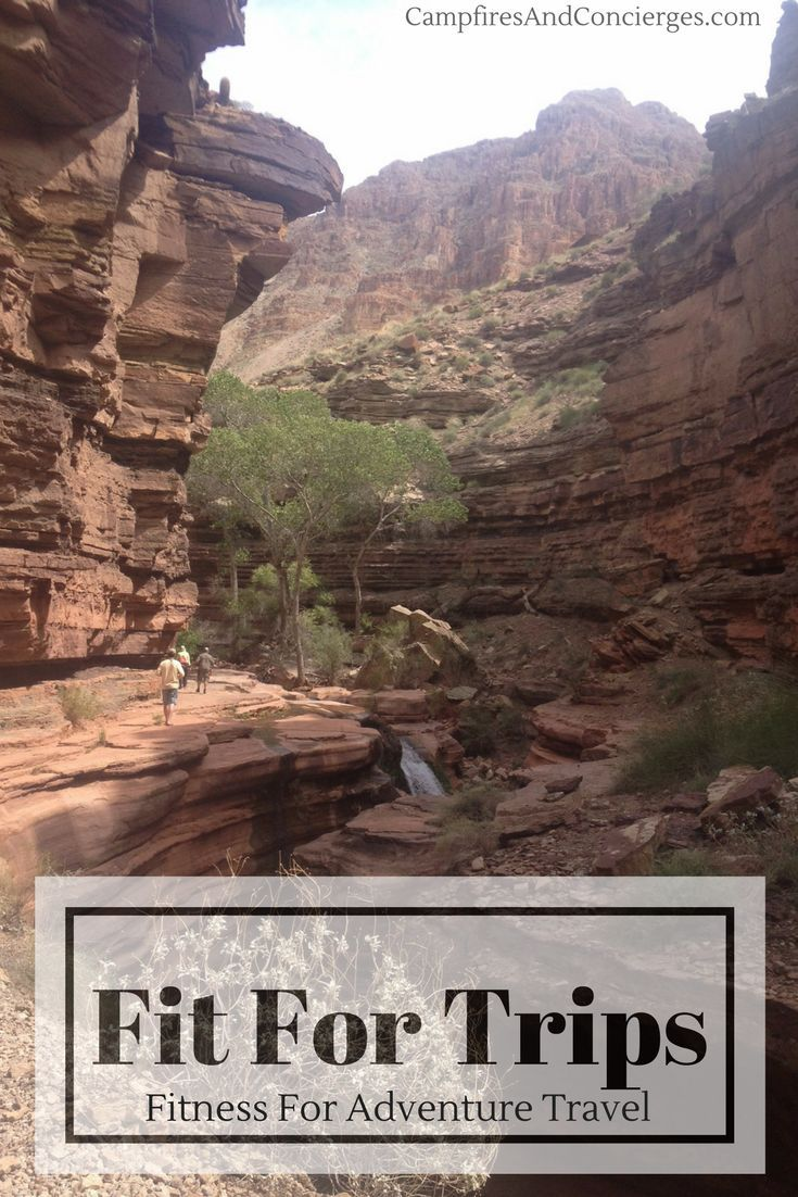 Fit For Trips - Fitness Program for Outdoor Adventure Travel