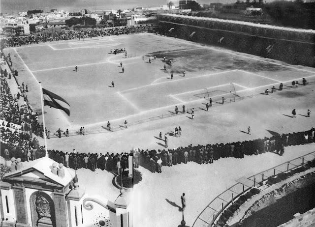 1951 Estadio Heliodoro, Santa Cruz de Tenerife
