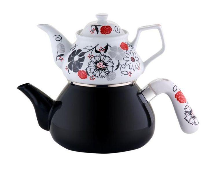 Çaydanlık Takımı - SİMAY / Siyah İnci | yakalagidiyor.com