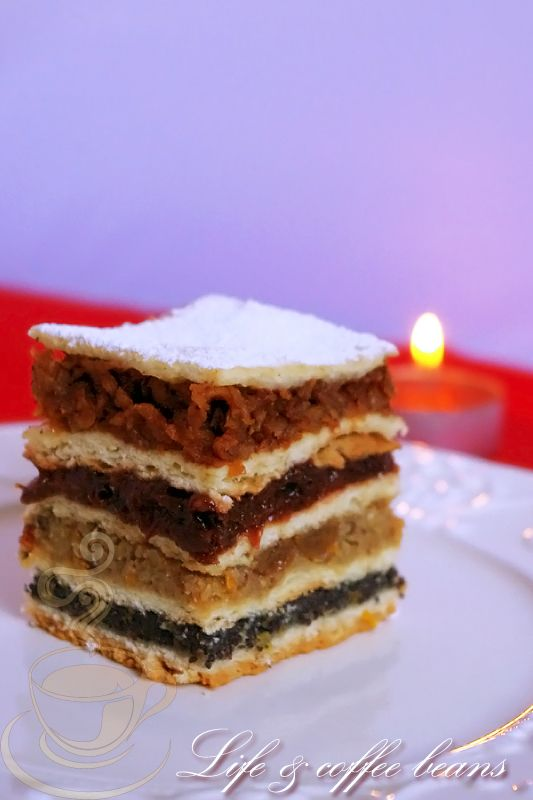 Flodni cake