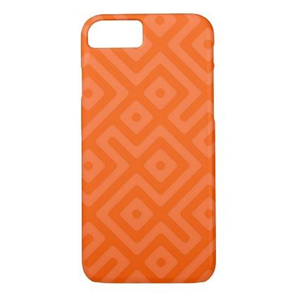 Abstract Orange Phone CASE - married gifts wedding anniversary marriage party diy cyo