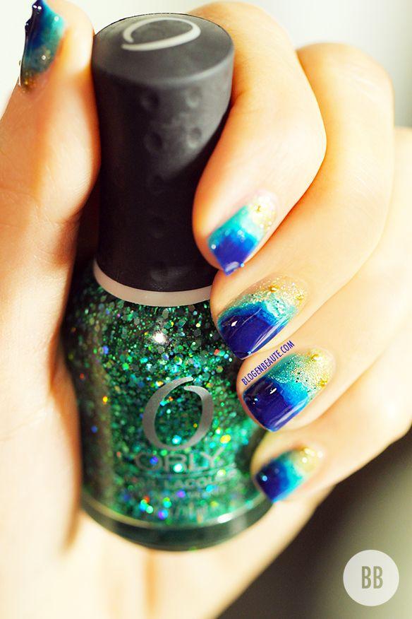Manucure Ocean | Nail Art facile #3 | Blog en Beauté