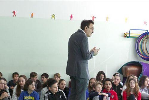 Lilt Pescara su incontro nella scuola media Pascoli su Progetto Sistema Salute