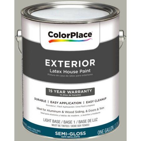 ColorPlace Exterior Paint, Pewter Grey, #50YY 47/053