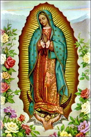 Guadalupe | Our Lady of Guadalupe- great reference for medallions and general history on the Patroness of the Americas