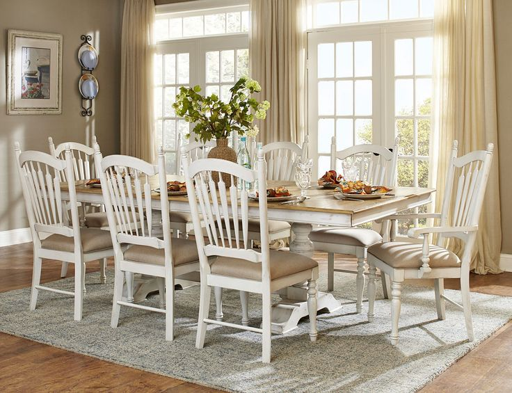 Dining Table With Chairs Hollyhock Collection 5123