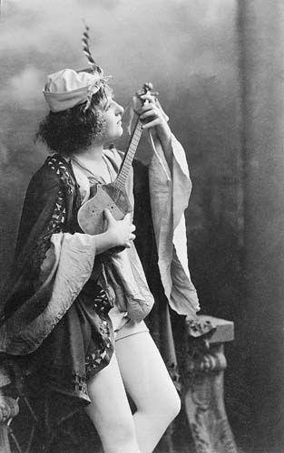 Fedák Sári a Bob herceg címszerepében (1902) - Forrás: mek.oszk.hu