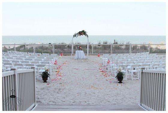 Ocean City Beach Wedding: Little Miss Lovely // Ocean City, Md Wedding Florist