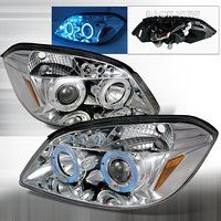 Cheap Spec-D Tuning 2005-2010 Chevy Cobalt Halo Led Projector Headlights Chrome…
