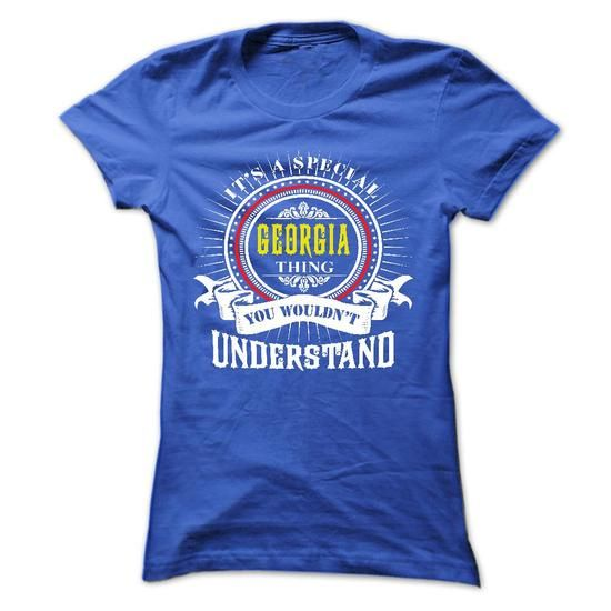 GEORGIA .Its a GEORGIA Thing You Wouldnt Understand - T - #printed tee #tee verpackung. LIMITED TIME => https://www.sunfrog.com/Names/GEORGIA-Its-a-GEORGIA-Thing-You-Wouldnt-Understand--T-Shirt-Hoodie-Hoodies-YearName-Birthday-41028481-Ladies.html?68278