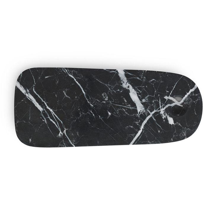 top3 by design - Normann Copenhagen - NM pebble board small black