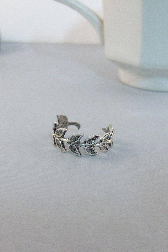 Laurel Branch anello di foglia foglia foglie anello