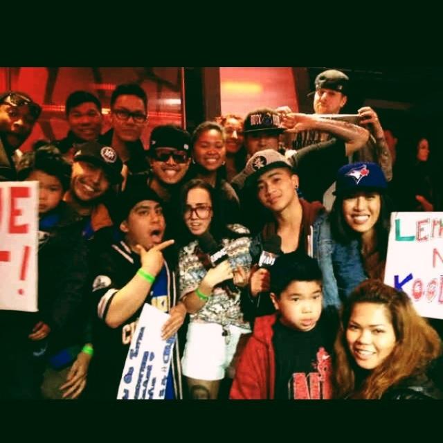 @ much music's NML best dance crew last summer 2012. #buccnflvr