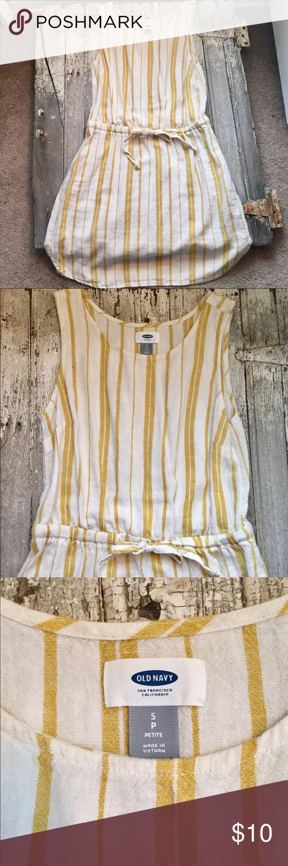 I just added this listing on Poshmark: Old Navy Mustard Striped Dress. #shopmycloset #poshmark #fashion #shopping #style #forsale #Old Navy #Dresses & Skirts