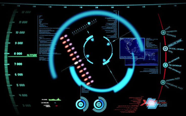 fictional #interface design for the movie Iron Man