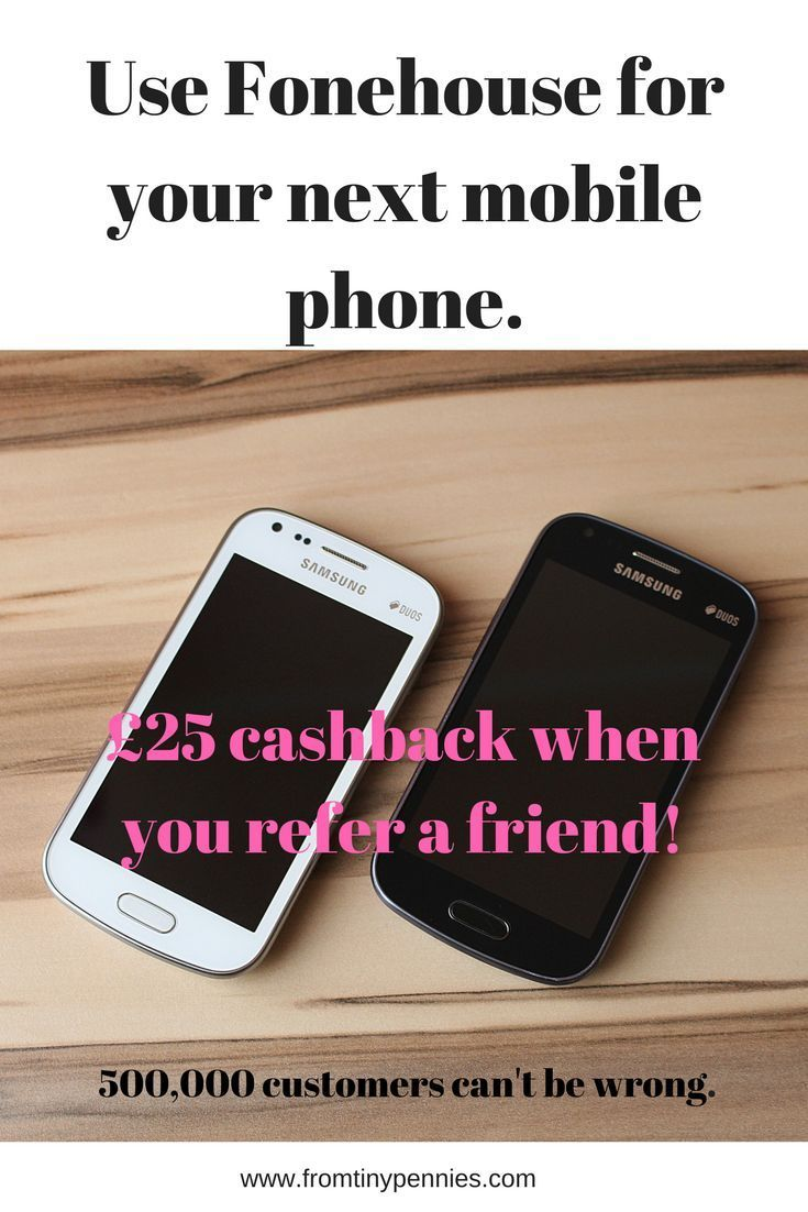 Fonehouse is a mobile phone company formed in 1994, they offer mobile phone contracts, SIM only contracts and SIM free phones.  Plus a cheque for 25 when you refer a friend!  #affiliate #mobilephone #contract #cashback