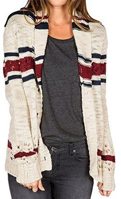 Element Junior's Marcelle Cardigan Printed Sweater - Shop for women's Cardigan