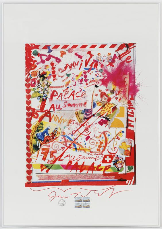 Jean Tinguely (1925-1991) Affiche
